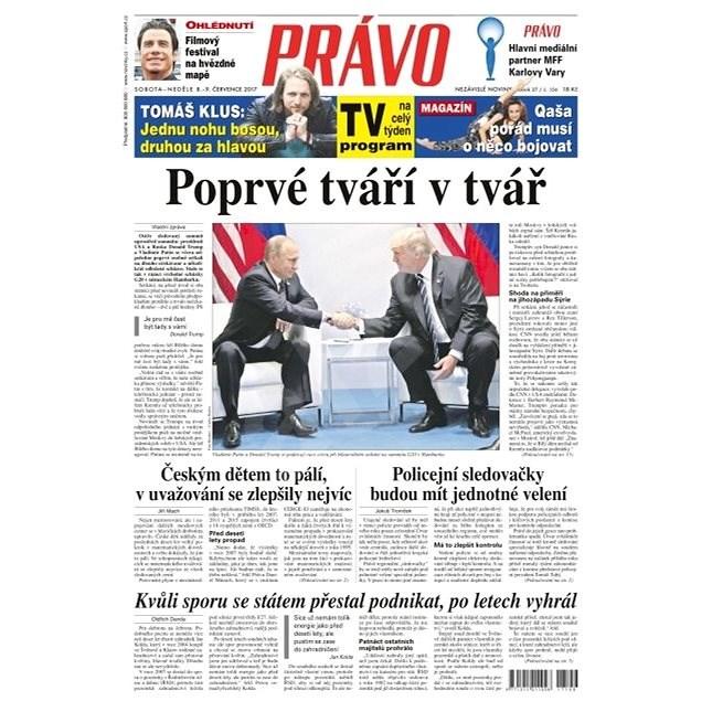 Právo - 08-07-2017 - Elektronické noviny