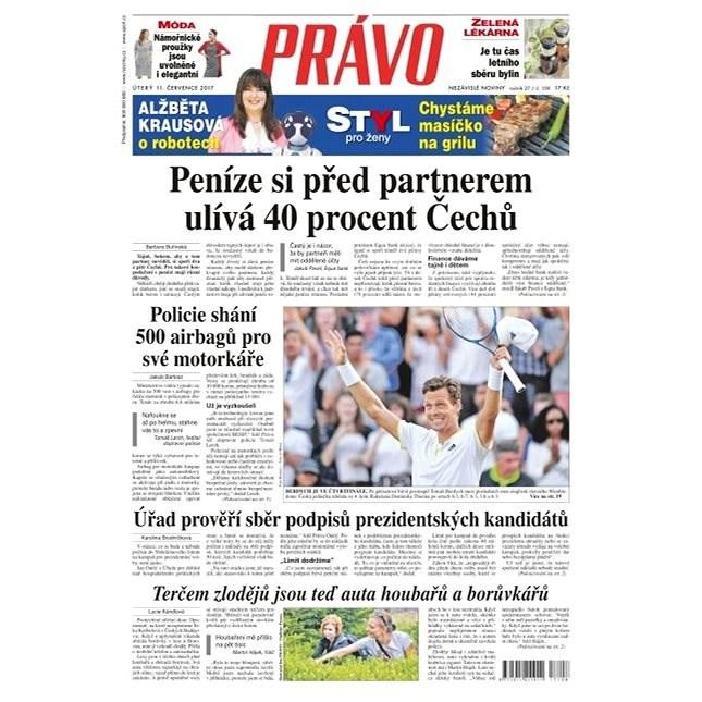 Právo - 11-07-2017 - Elektronické noviny