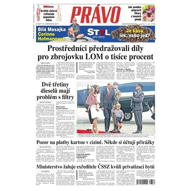 Právo - 18-07-2017 - Elektronické noviny