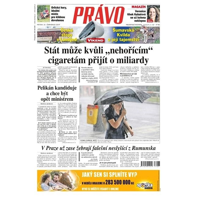 Právo - 21-07-2017 - Elektronické noviny