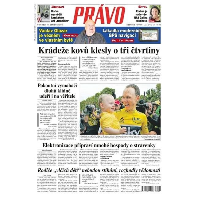 Právo - 24-07-2017 - Elektronické noviny