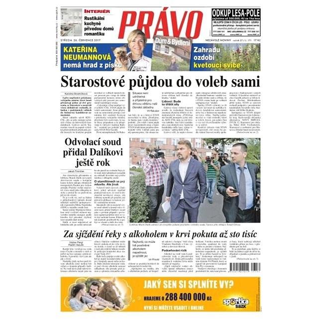 Právo - 26-07-2017 - Elektronické noviny