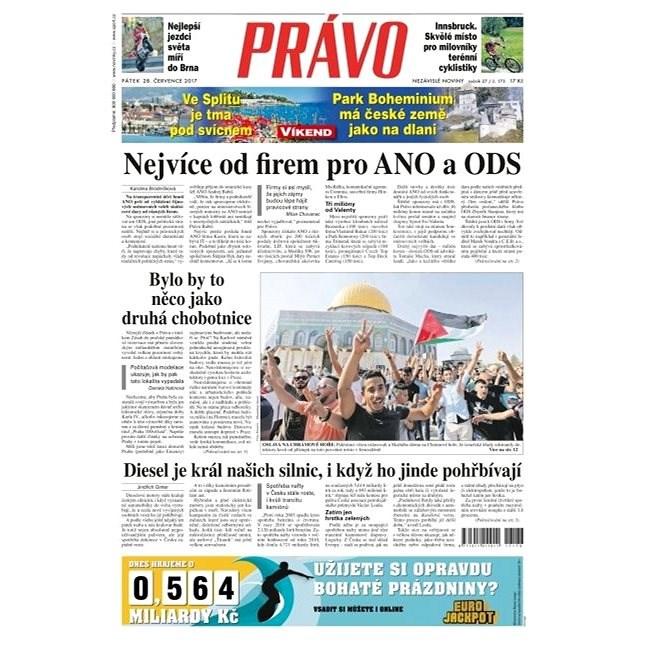 Právo - 28-07-2017 - Elektronické noviny