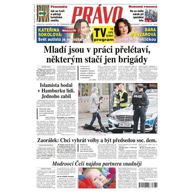 Právo - 29-07-2017 - Elektronické noviny