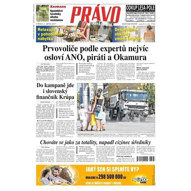 Právo - 02-08-2017 - Elektronické noviny