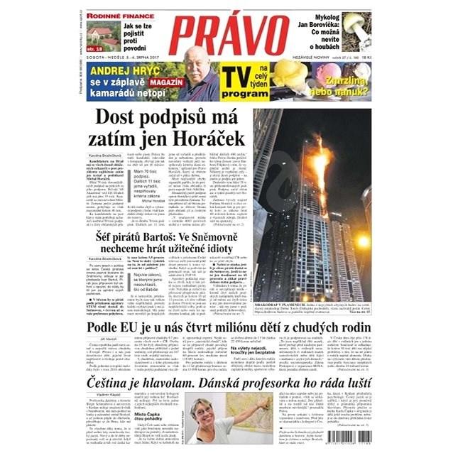 Právo - 05-08-2017 - Elektronické noviny