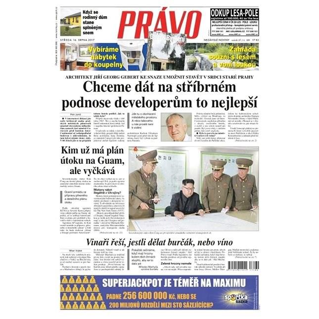 Právo - 16-08-2017 - Elektronické noviny