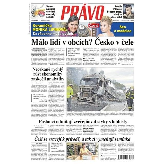 Právo - 17-08-2017 - Elektronické noviny
