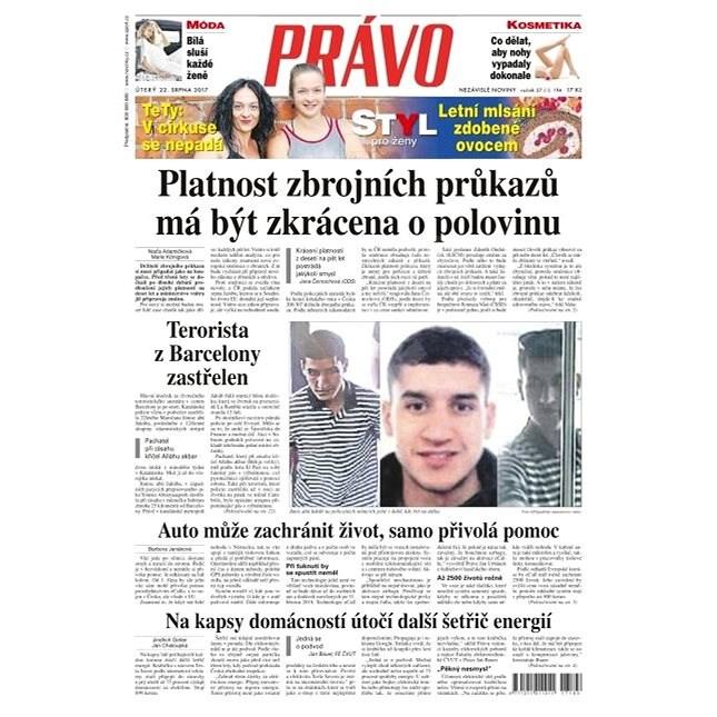 Právo - 22-08-2017 - Elektronické noviny