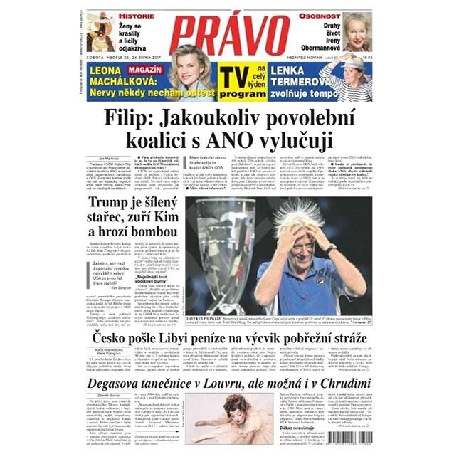 Právo - 23-09-2017 - Elektronické noviny