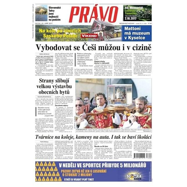 Právo - 29-09-2017 - Elektronické noviny