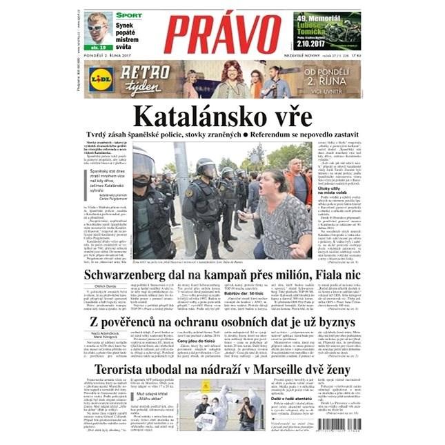 Právo - 02-10-2017 - Elektronické noviny
