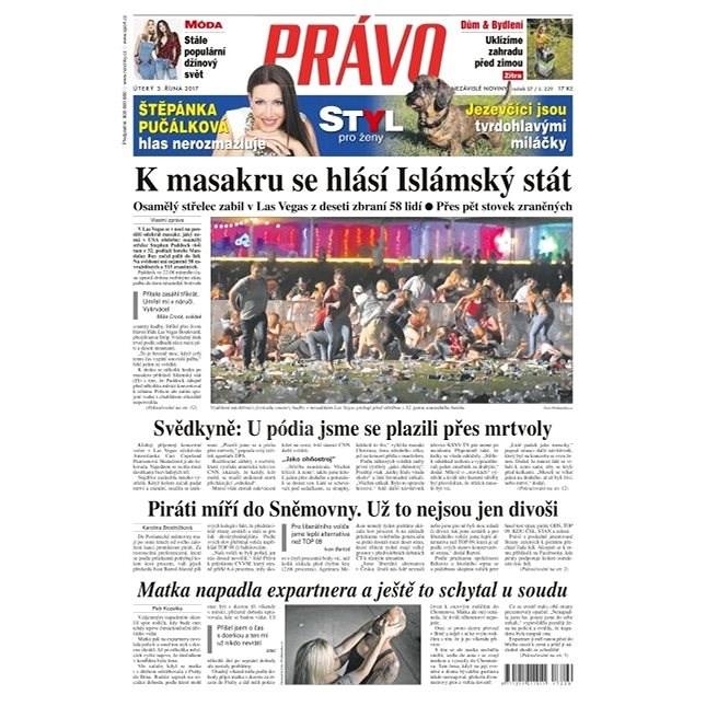 Právo - 03-10-2017 - Elektronické noviny