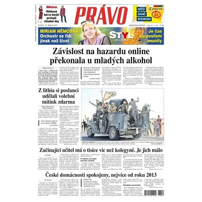 Právo - 17-10-2017 - Elektronické noviny