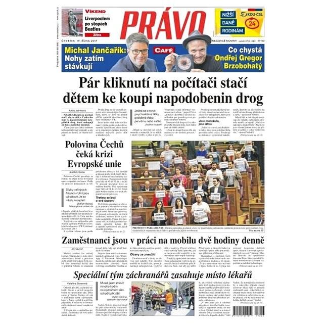 Právo - 19-10-2017 - Elektronické noviny