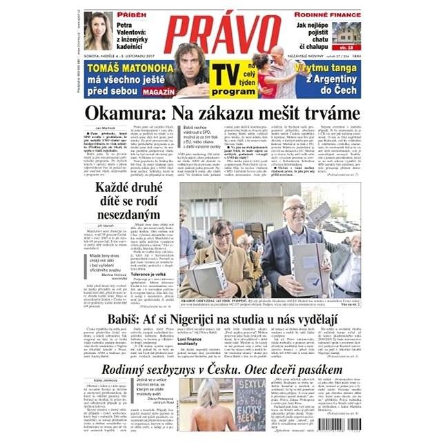Právo - 04-11-2017 - Elektronické noviny