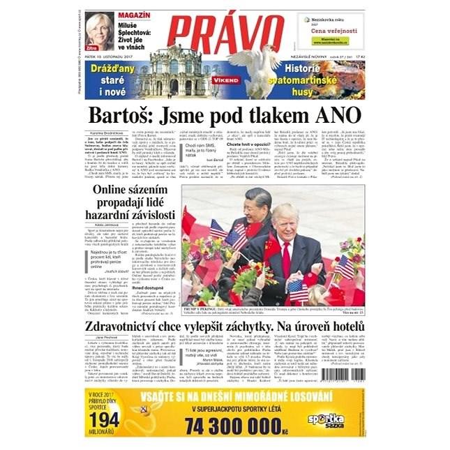Právo - 10-11-2017 - Elektronické noviny