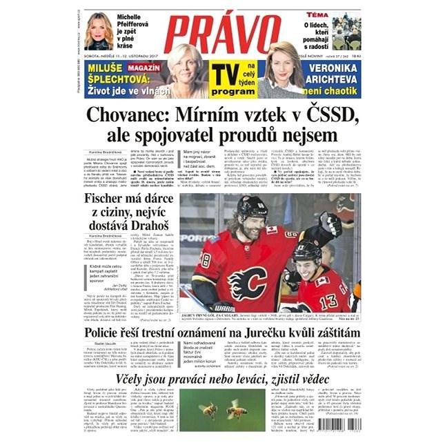 Právo - 11-11-2017 - Elektronické noviny