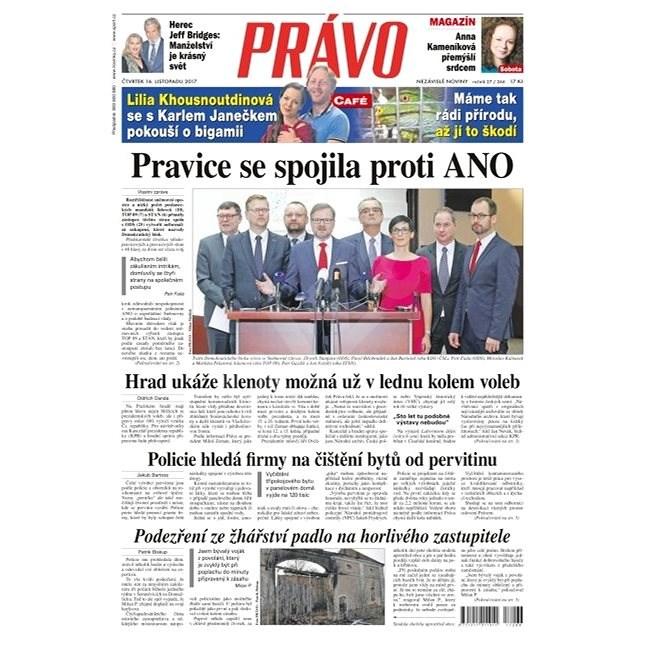 Právo - 16-11-2017 - Elektronické noviny