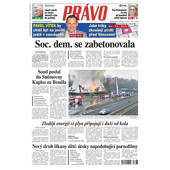 Právo - 20-11-2017 - Elektronické noviny