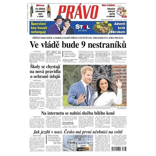 Právo - 28-11-2017 - Elektronické noviny