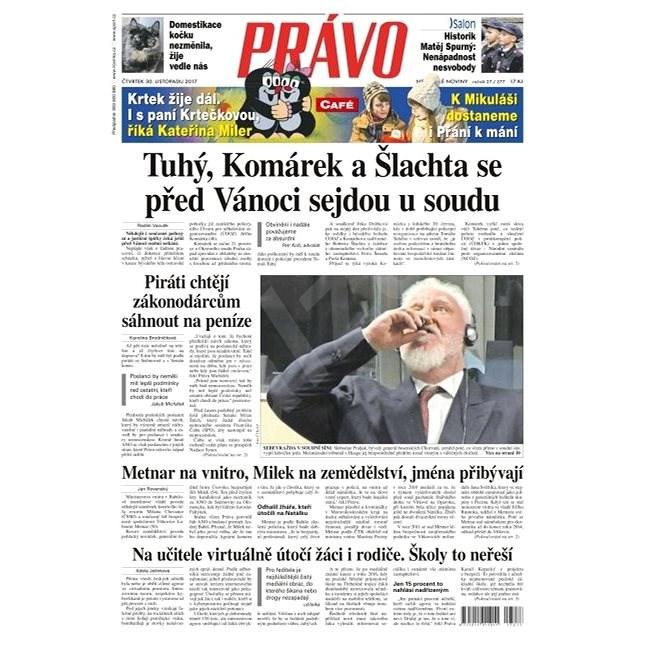 Právo - 30-11-2017 - Elektronické noviny