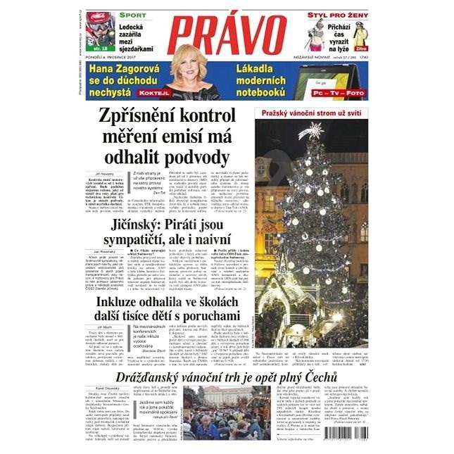 Právo - 04-12-2017 - Elektronické noviny