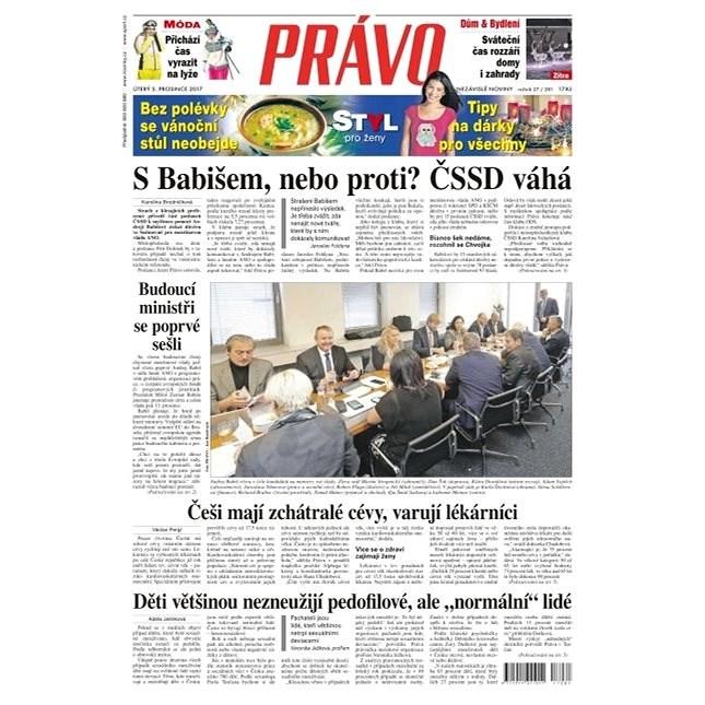 Právo - 05-12-2017 - Elektronické noviny