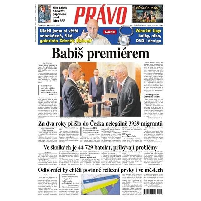 Právo - 07-12-2017 - Elektronické noviny