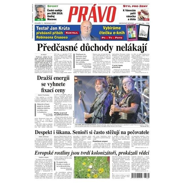Právo - 11-12-2017 - Elektronické noviny