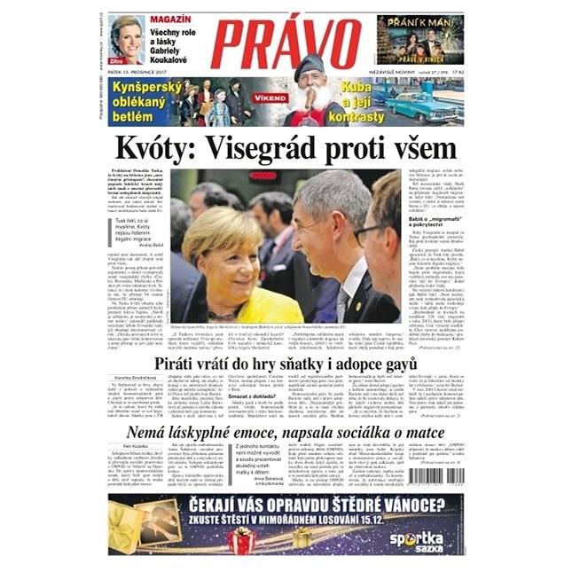 Právo - 15-12-2017 - Elektronické noviny