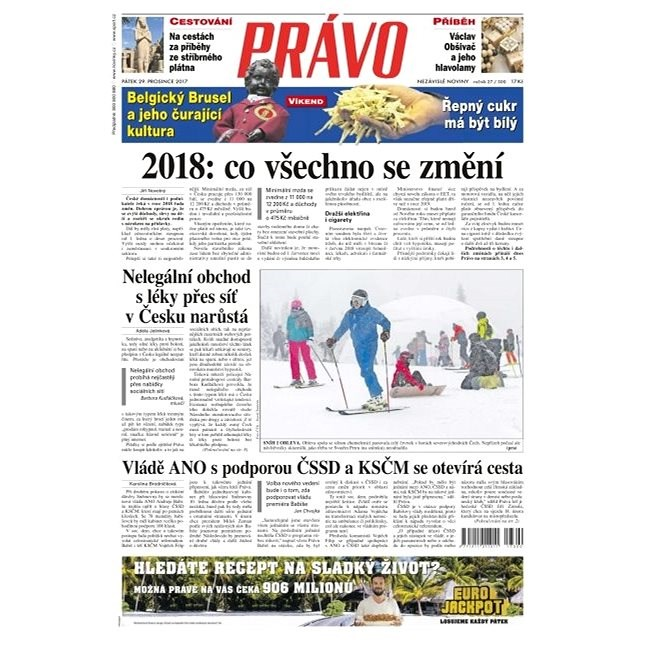 Právo - 29-12-2017 - Elektronické noviny