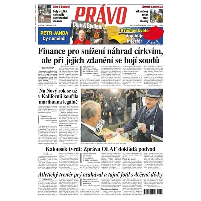 Právo - 03-01-2018 - Elektronické noviny