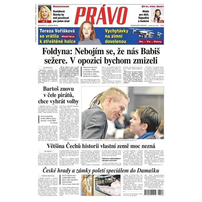 Právo - 08-01-2018 - Elektronické noviny
