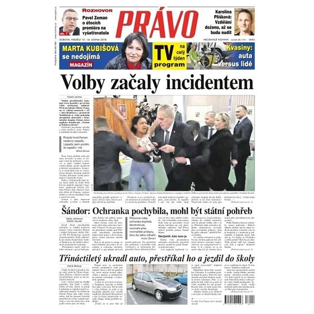 Právo - 13-01-2018 - Elektronické noviny