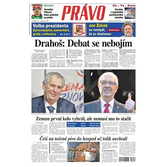 Právo - 15-01-2018 - Elektronické noviny