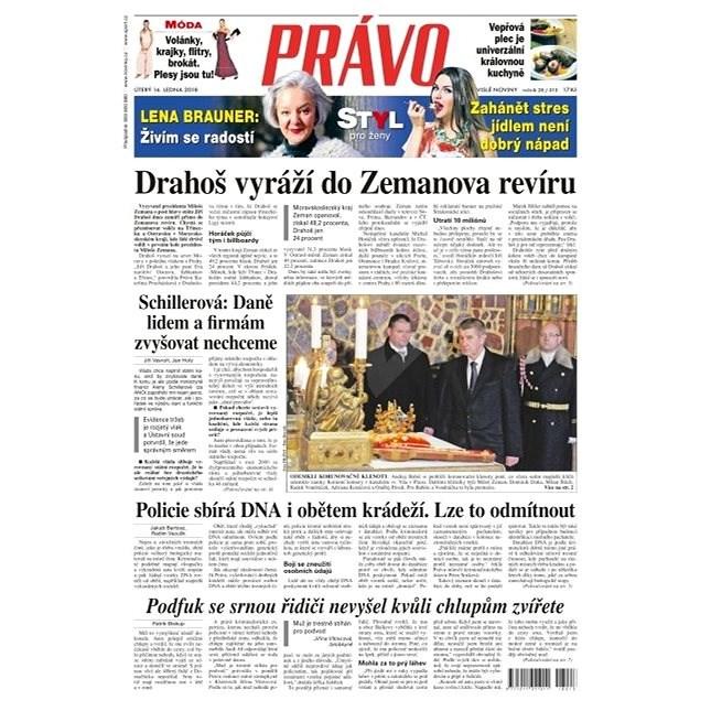 Právo - 16-01-2018 - Elektronické noviny