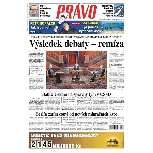 Právo - 26-01-2018 - Elektronické noviny