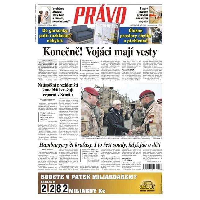 Právo - 31-01-2018 - Elektronické noviny