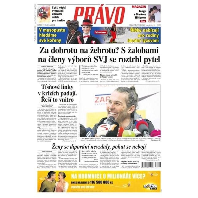 Právo - 02-02-2018 - Elektronické noviny