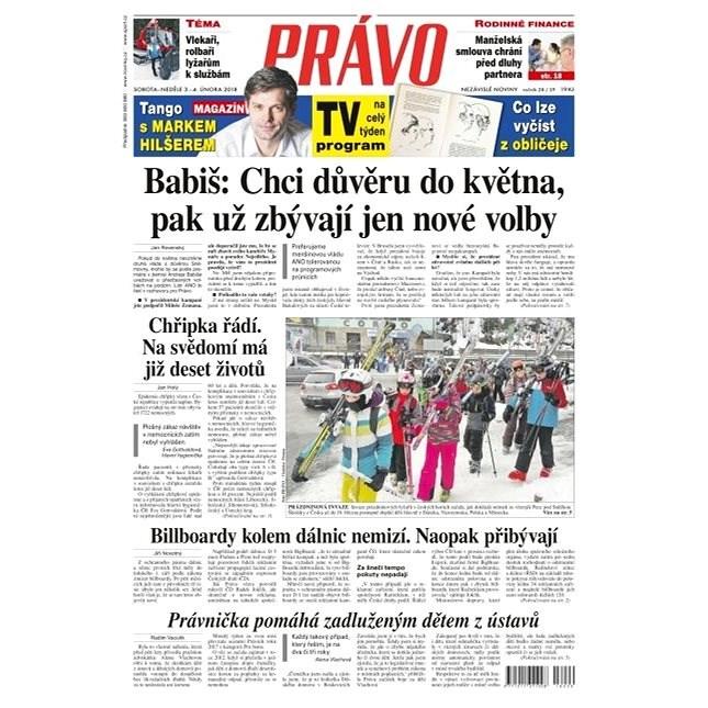 Právo - 03-02-2018 - Elektronické noviny