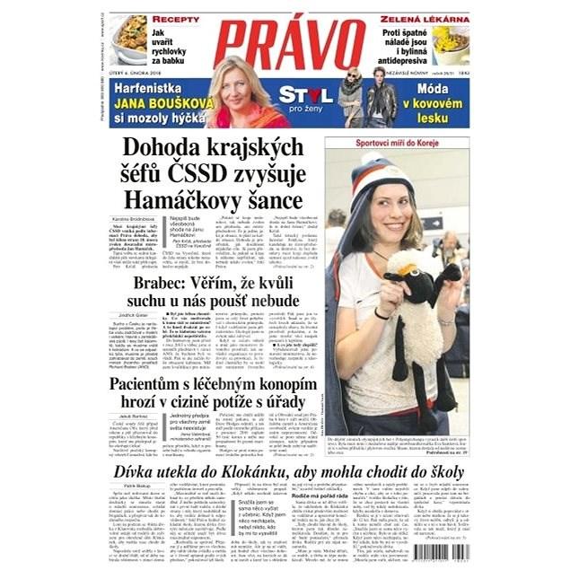 Právo - 06-02-2018 - Elektronické noviny