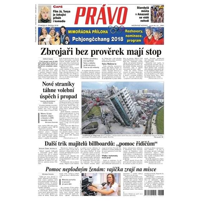 Právo - 08-02-2018 - Elektronické noviny