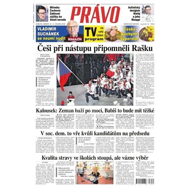 Právo - 10-02-2018 - Elektronické noviny