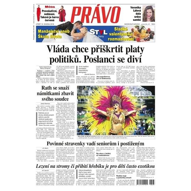 Právo - 13-02-2018 - Elektronické noviny