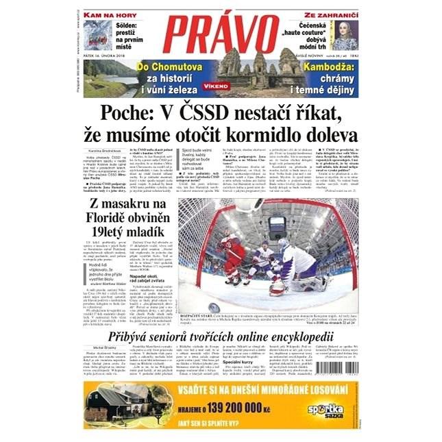 Právo - 16-02-2018 - Elektronické noviny