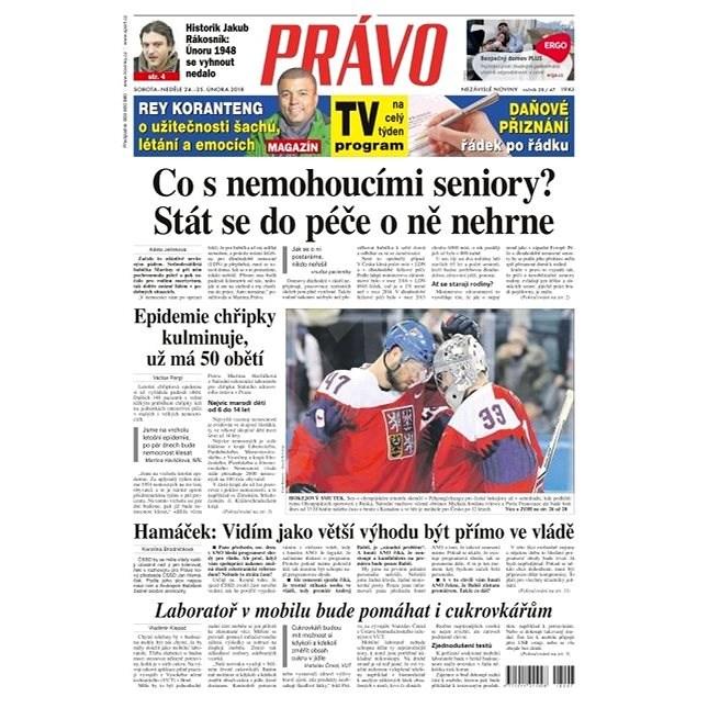 Právo - 24-02-2018 - Elektronické noviny