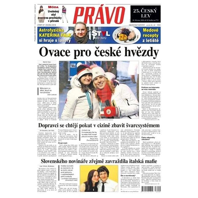 Právo - 27-02-2018 - Elektronické noviny