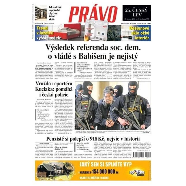Právo - 28-02-2018 - Elektronické noviny