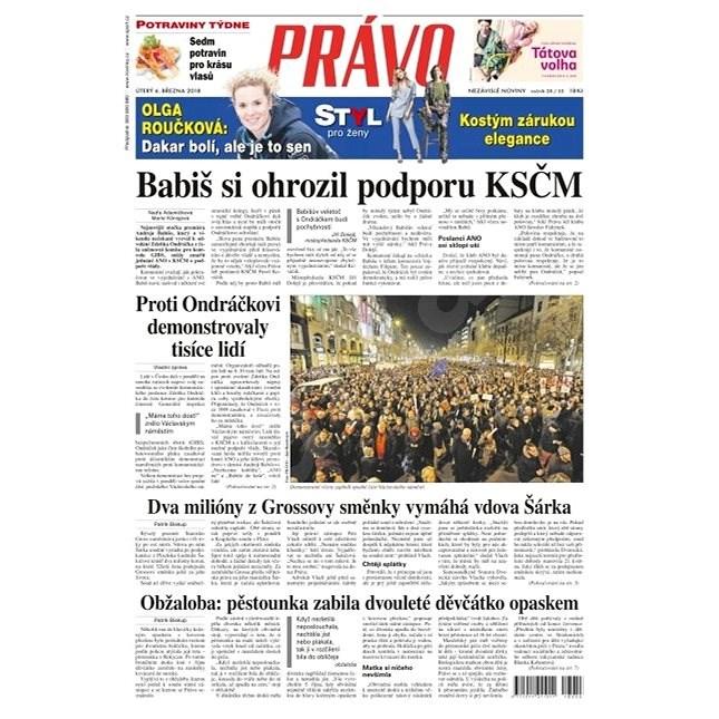 Právo - 06-03-2018 - Elektronické noviny